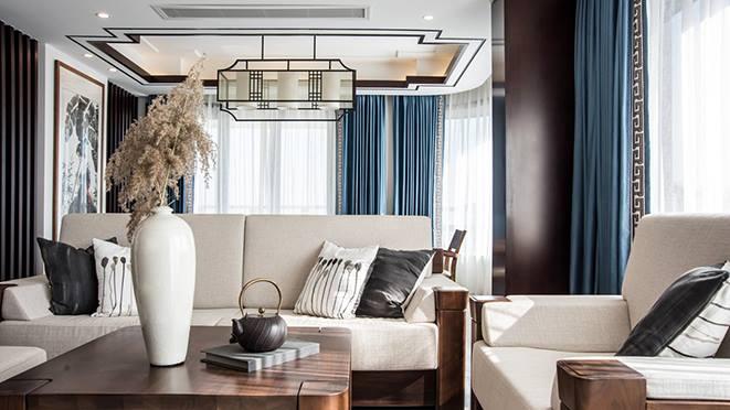 新中式风格东方一品样板房设计