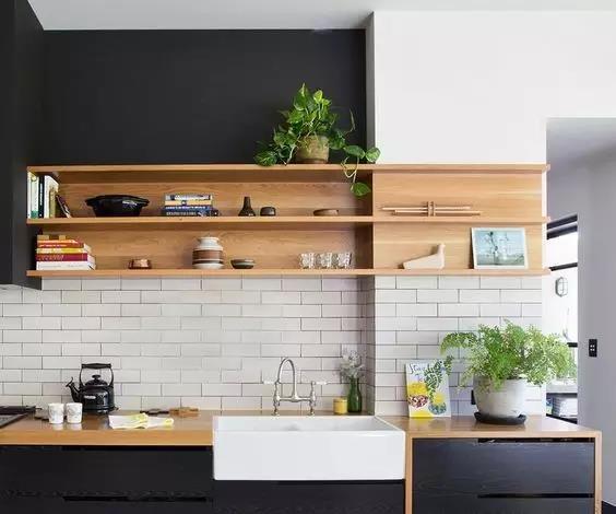 天津装修百科 厨房不用吊柜,用什么?