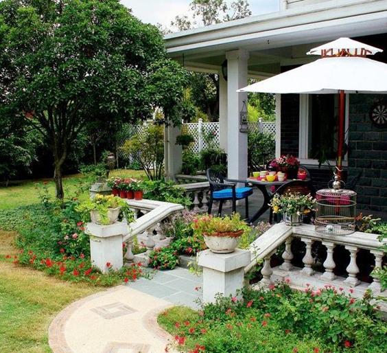 天津别墅花园怎么设计?这些元素锦上添花