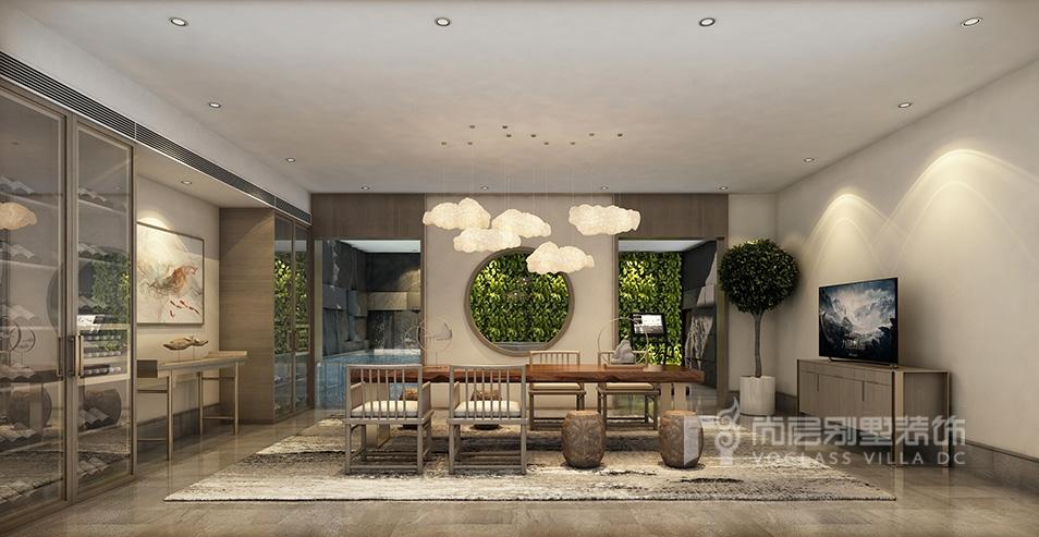 别墅设计案例 | 600平新中式风格