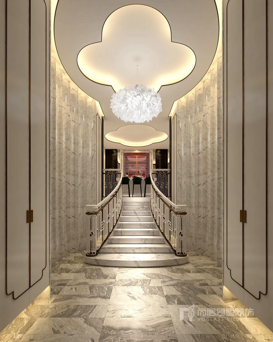 金科天玺别墅装修设计效果图-门厅