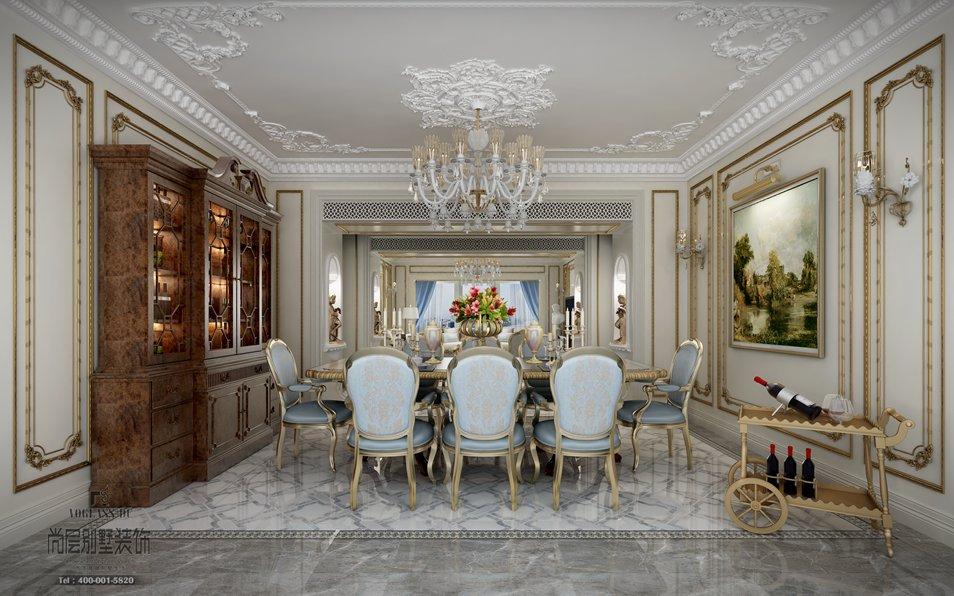 杭州别墅案例 阳光国际|法式风格     对于装修风格尺度与分寸的把握
