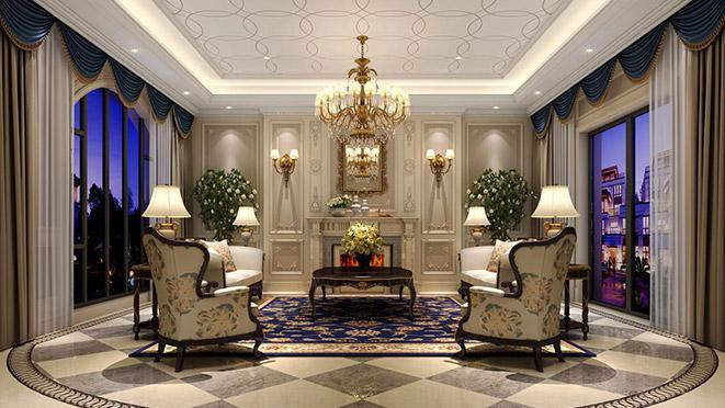 别墅装饰设计法式风格