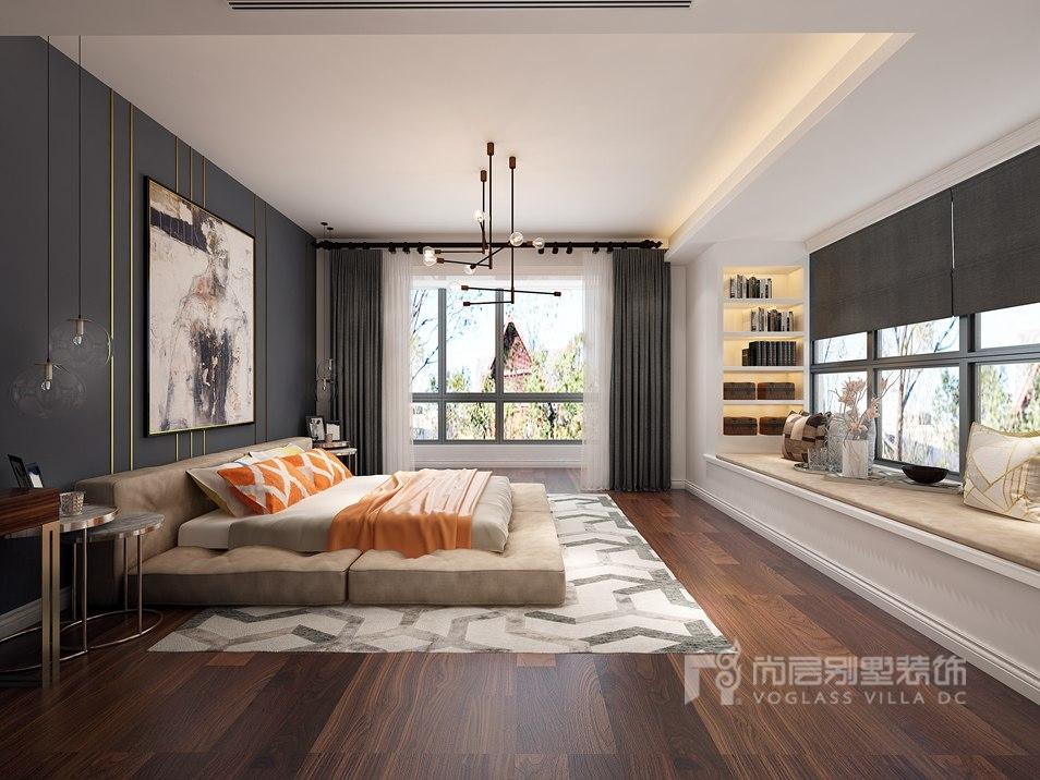 誉天下别墅装修设计效果图-卧室