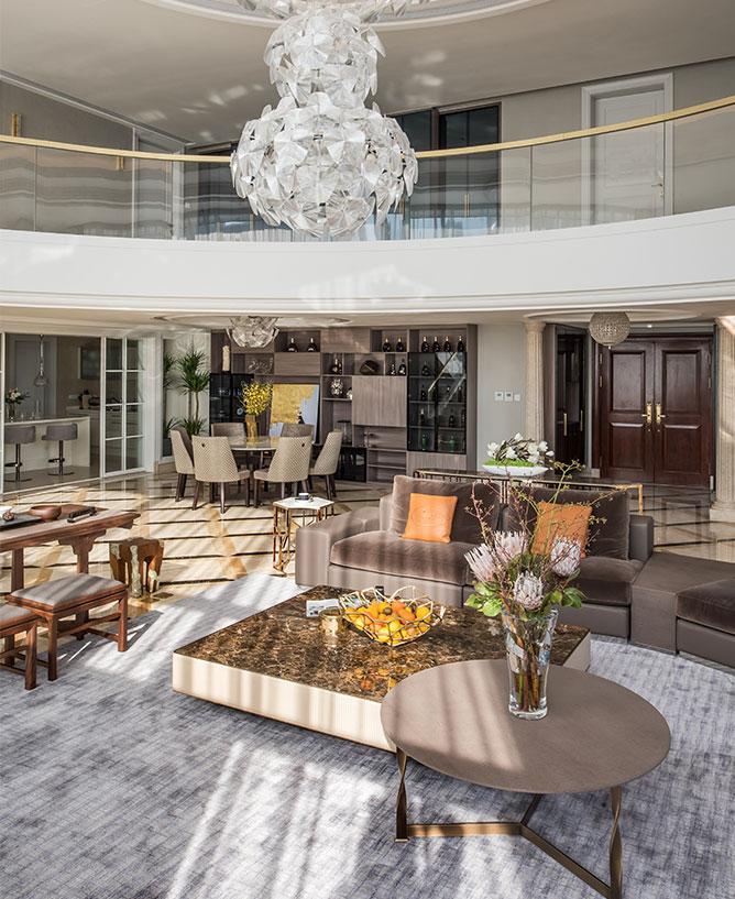 现代轻奢风格别墅装修设计案例