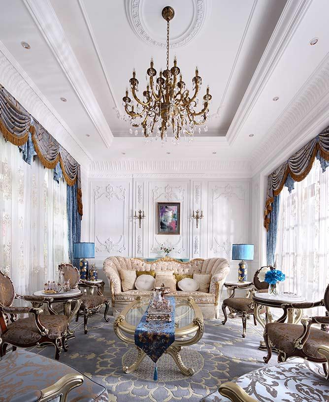 法式风格别墅装修设计图片