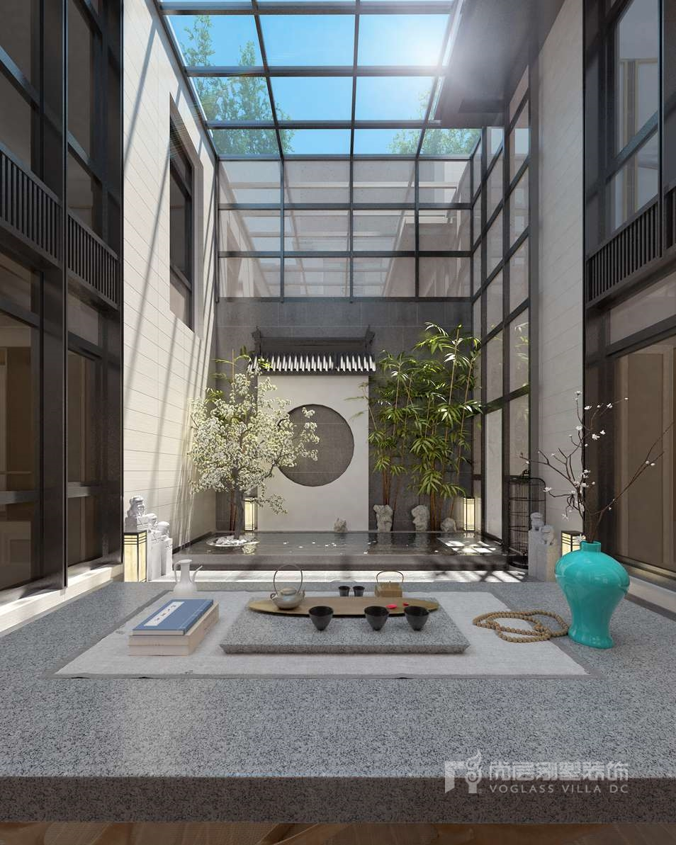 北京院子别墅装修设计