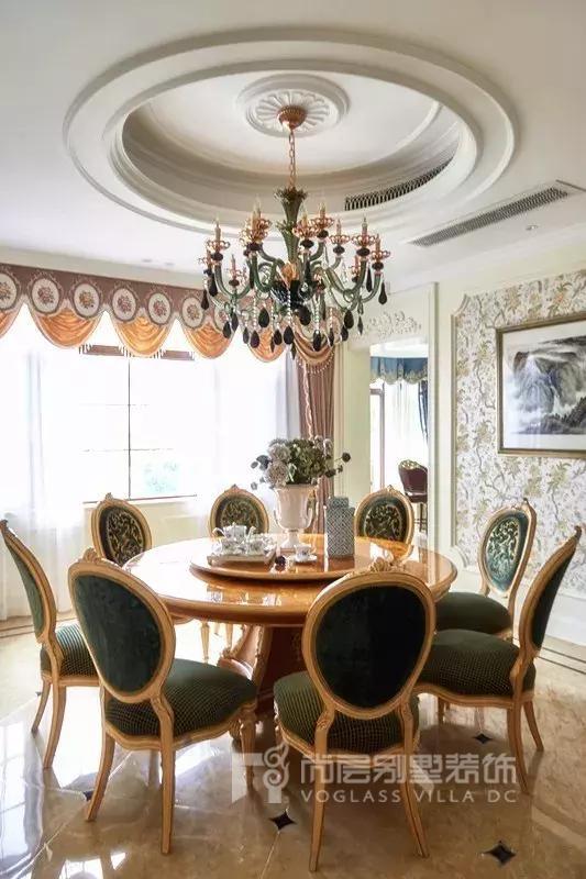 别墅装修设计实景-餐厅
