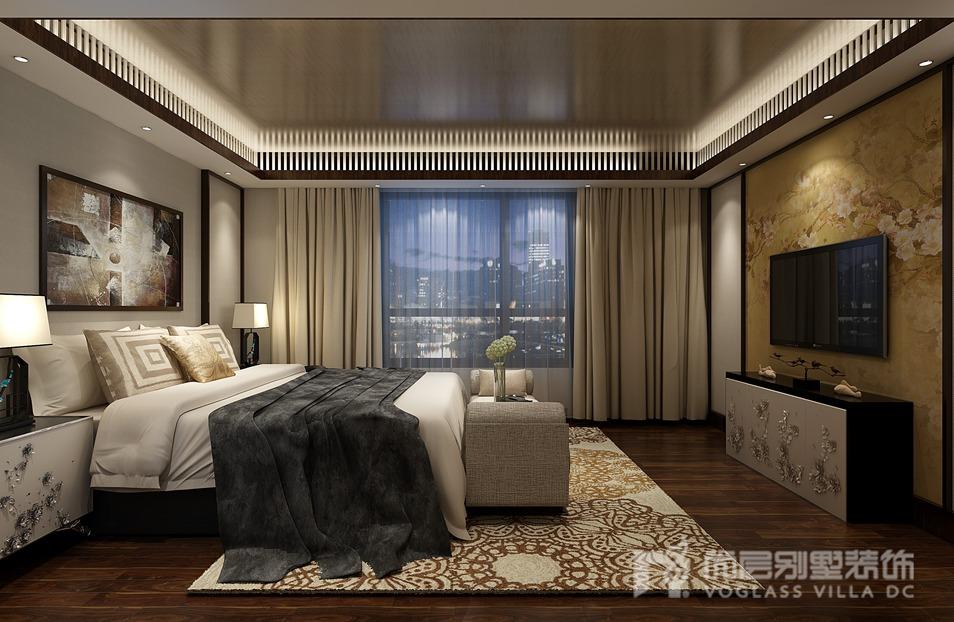 北京院子新中式风格别墅装修