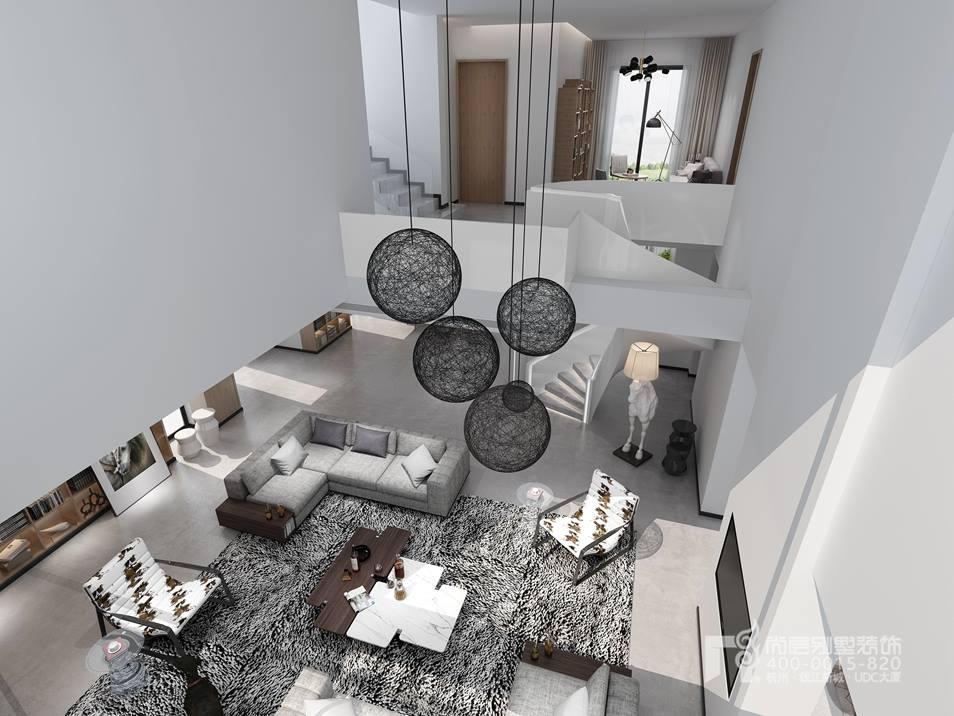 圆梦园现代风格500平米别墅效果图,别墅改造翻新