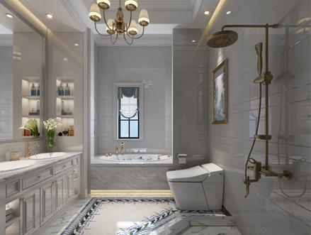 别墅卫生间装修效果图,方寸之地尤有设计