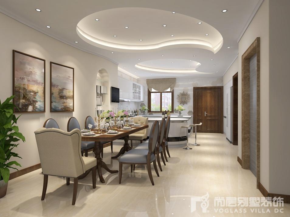 现代美式风格别墅装修设计