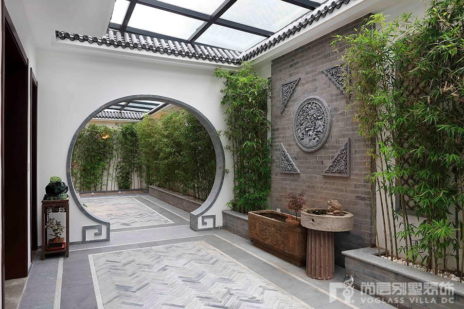 新中式室内花园