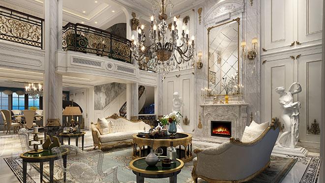 法式风格别墅装修设计