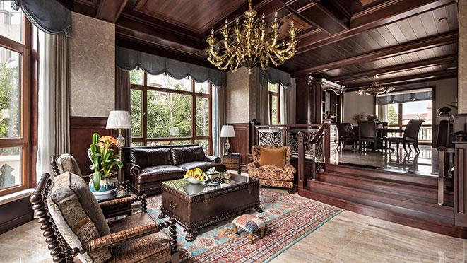 600平米美式风格别墅装修