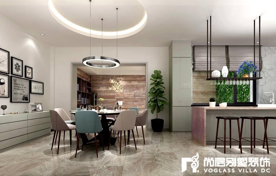 新世界·麗樽獨棟別墅裝修設計方案