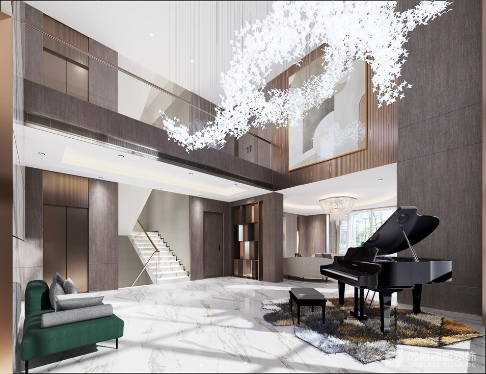 现代风格别墅装修设计效果图