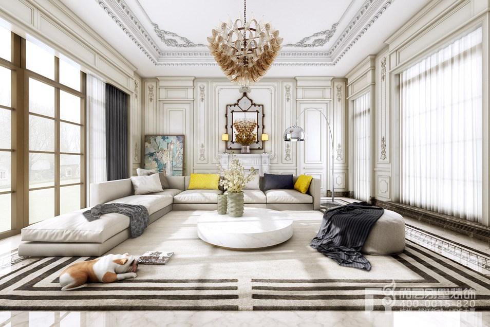 法式風格獨棟別墅裝修設計