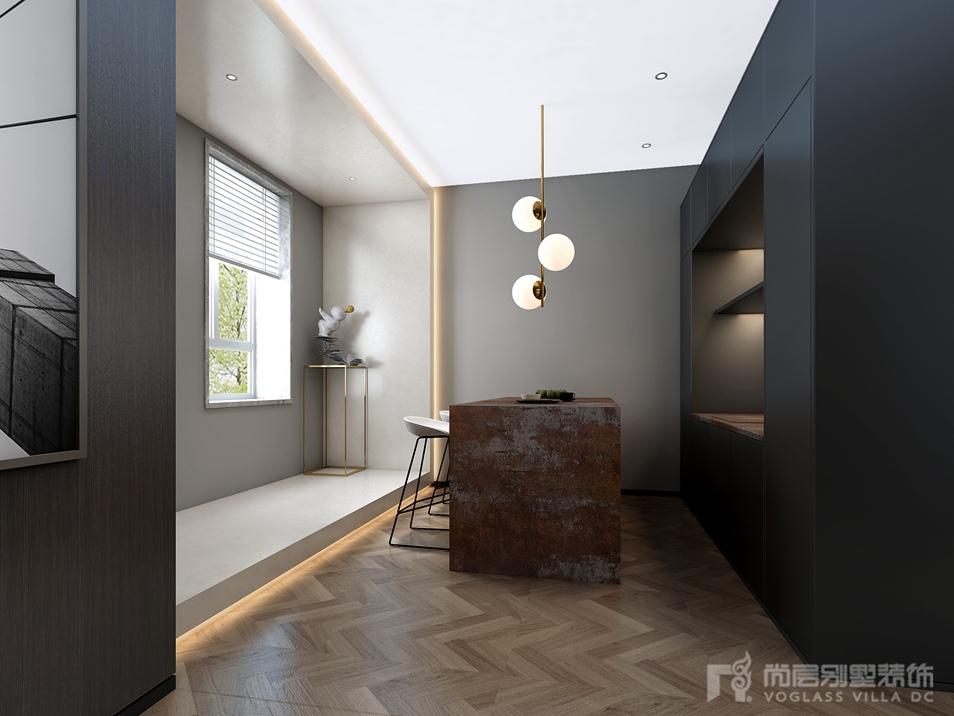 新世界麗樽獨棟別墅裝修設計效果圖