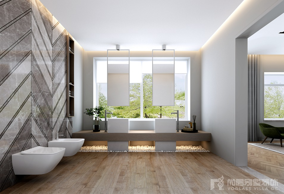 新世界丽樽独栋别墅装修设计效果图