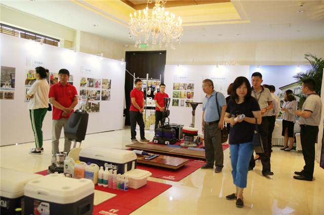 国际别墅设计展现场
