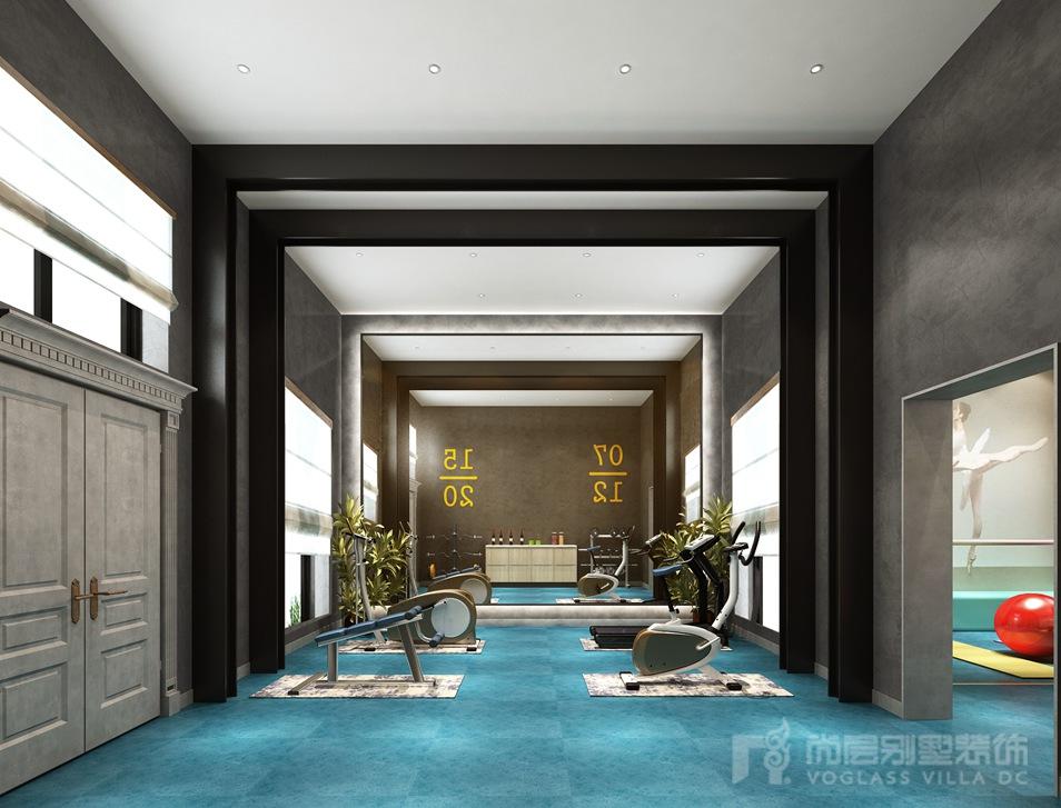现代简约风格别墅装修设计效果图