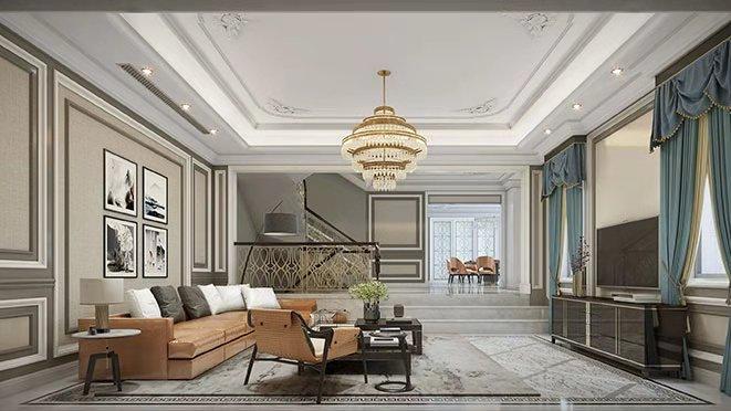 法式客厅设计效果