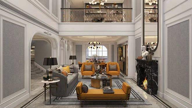 法式现代别墅设计