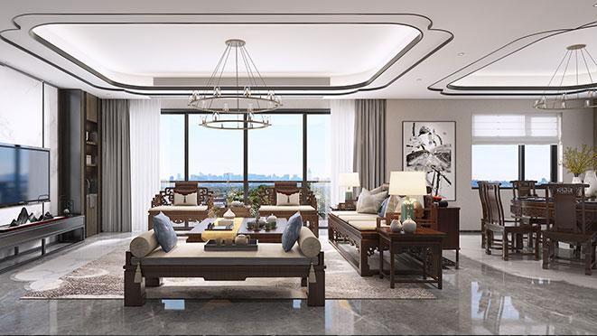 混搭别墅客厅设计