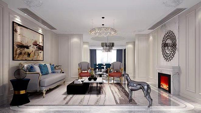 现代美式别墅设计效果