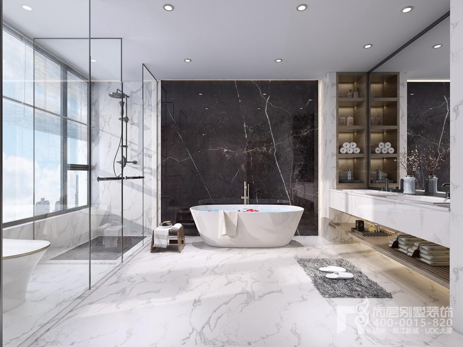 現代風格衛浴室設計