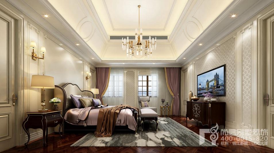 欧式别墅老人房设计