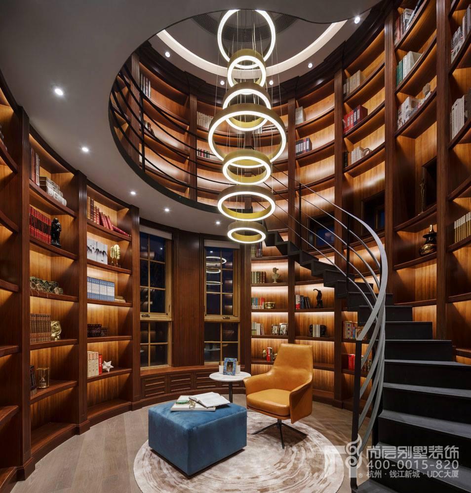 简约时尚风格书房实景图