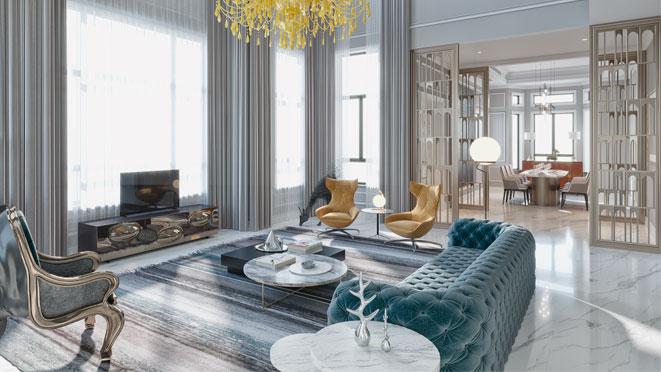 新古典风格别墅设计