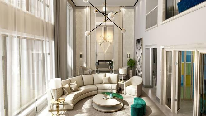 宜和美墅现代轻奢风格装修图