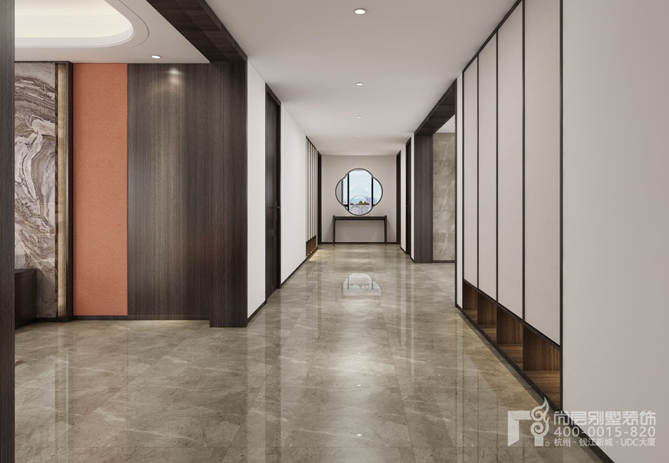别墅室内走廊