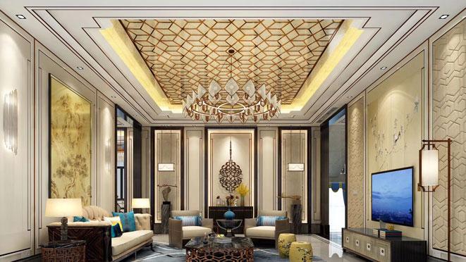 新中式風格別墅裝修