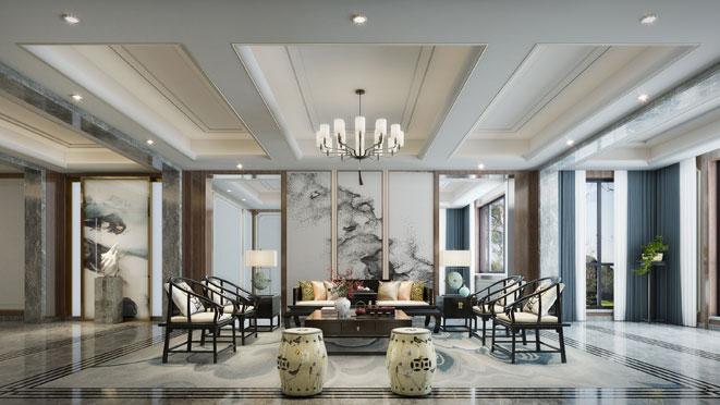 中式风格别墅设计案例