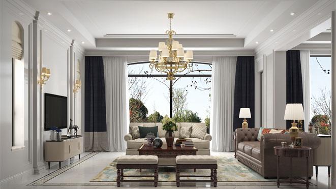 现代简美风格别墅案例