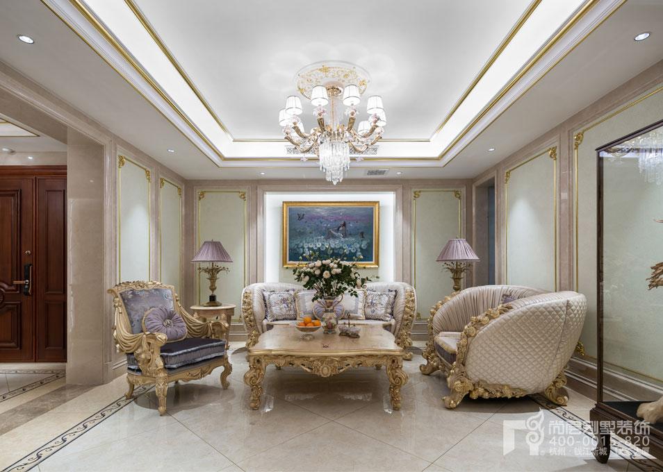 法式风格家庭室