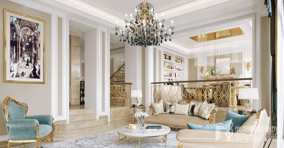 杭州装修房子欧式风格别墅装饰装修效果图