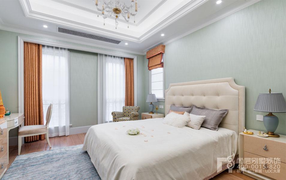 法式卧室装修实景图