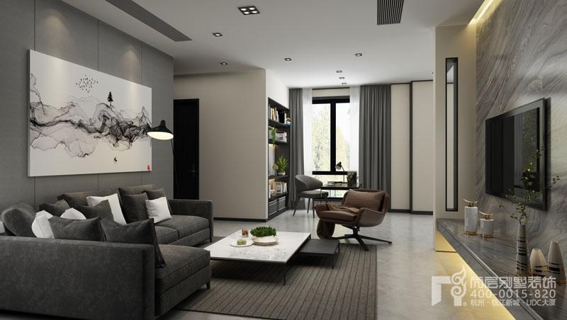現代別墅客廳設計