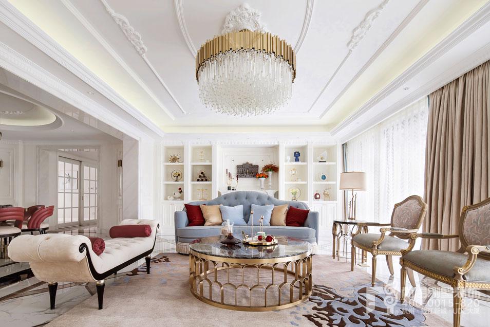 别墅装饰设计公司豪华别墅装修设计案例