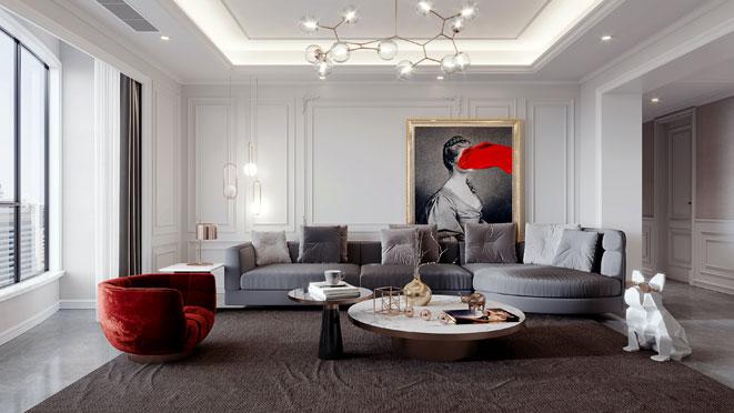 东方御府法式风格装修设计
