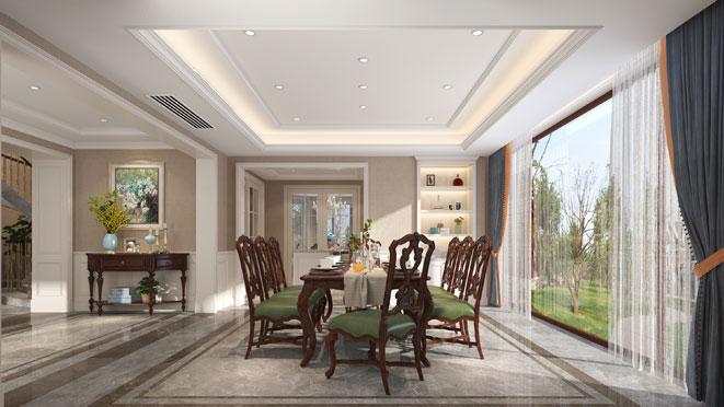 465m²简美风格别墅装修设计