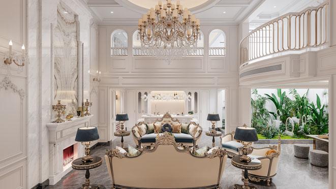 500方法式风格别墅装修设计