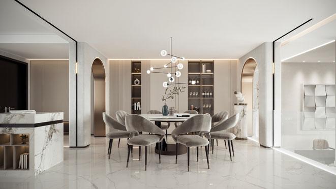 370m²现代风格设计案例