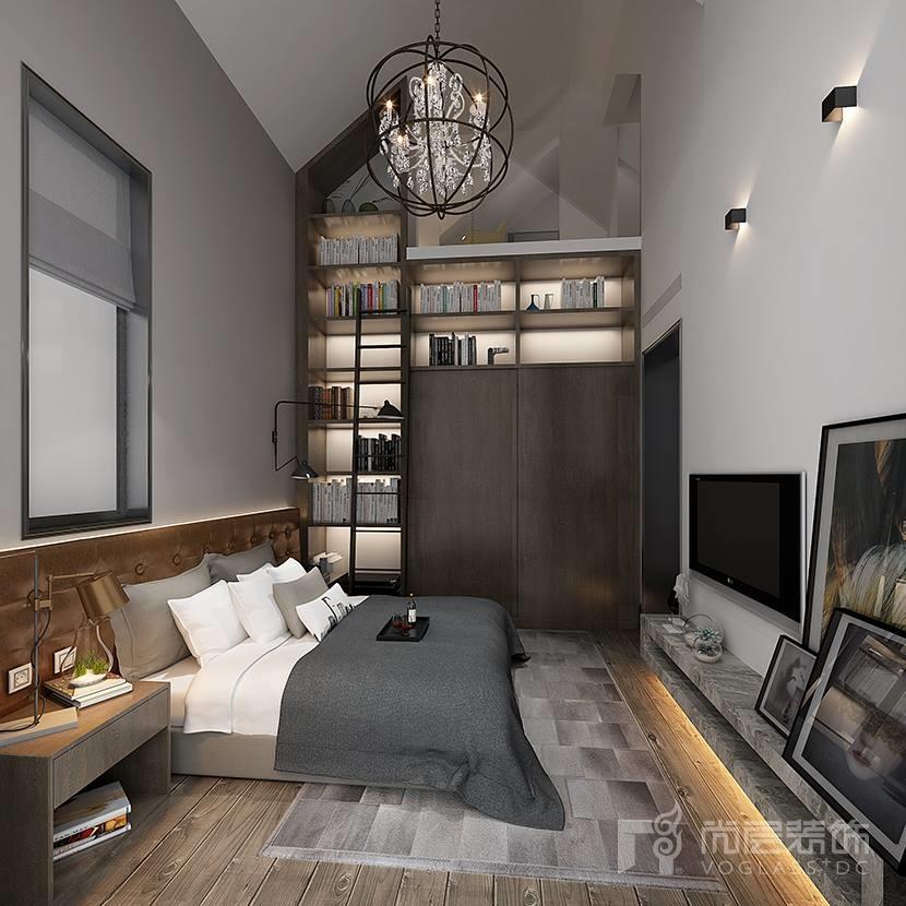 别墅装修设计地下室夹层,不但增加了使用空间,连原有很呆板的空间