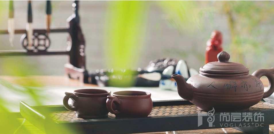 西山林语别墅装修业主喜欢的紫砂壶